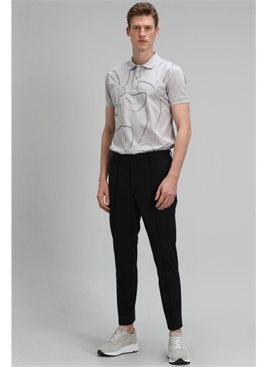 Lufian Karan Spor Polo T- Shirt Kırık  Taş